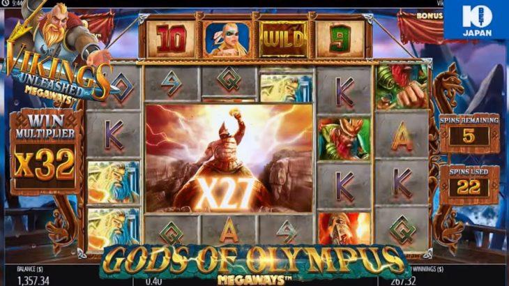 10betカジノ オンカジ 事故 VIKiNGS+gods of olympus Megaways