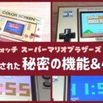 【ゲーム&ウォッチ スーパーマリオブラザーズ】機械に隠れた細かすぎる小ネタ集&秘密の機能まとめ〈レウン GAME TV〉