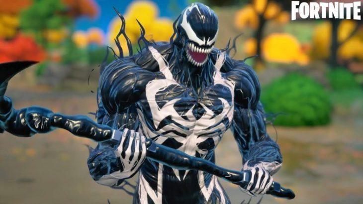 ヴェノムスキン ゲームプレイ公開!【フォートナイトX Marvel's Venom】【マーベルノックアウト スーパーシリーズ:ヴェノムカップ】【v14.60】