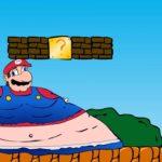 太りすぎたマリオのゲーム