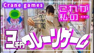 クレーンゲーム大量ゲット!ほぼ雪崩れ落ちw【のえのん番組】