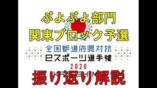 【振り返り解説】全国都道府県対抗eスポーツ選手権 2020ぷよぷよ部門 関東ブロックの予選