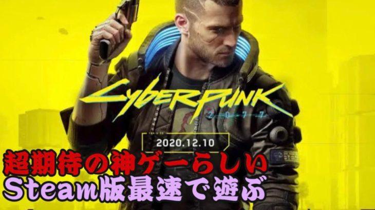 【サイバーパンク 2077】ヤバいゲームが出たらしいので遊ぶ【Cyberpunk 2077】