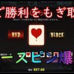 【オンラインカジノ】50%をつかみ取れ!勝負のフリースピン購入!【BOOK OF SHADOWS】