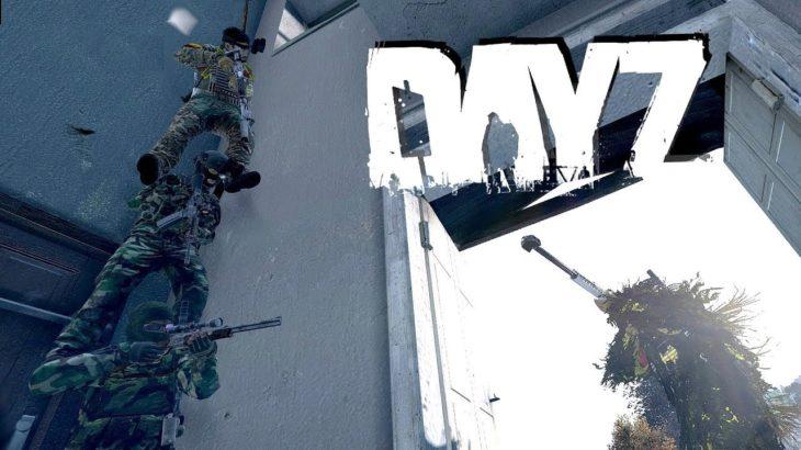 Apexの元になったゲームで日本アニメ大好き外国人と殺しあう!DayZ実況プレイ
