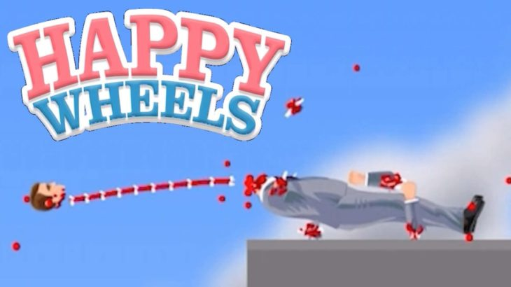 失敗したらグロすぎるゲーム【Happy Wheels実況】