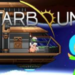 Terrariaっぽい2DゲームStarboundスターバウンド実況 宇宙船を直して旅立つ!