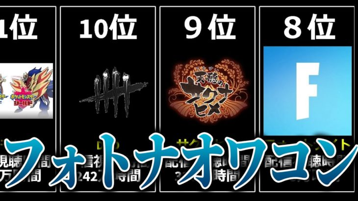 今、日本で最も人気なゲームは?【データ比較】