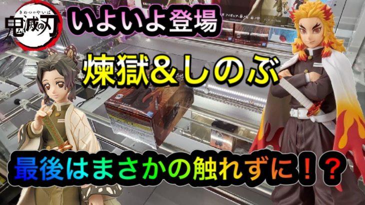 【クレーンゲーム】煉獄杏寿郎&胡蝶しのぶを獲得せよ!