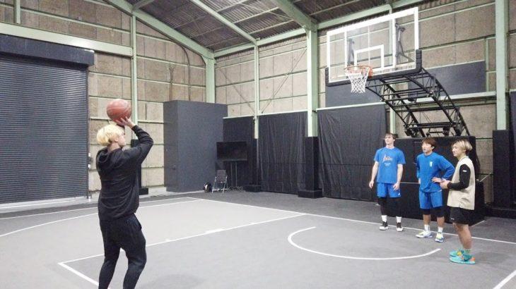 【バスケ】ともやん達とミニゲームで対決したよ