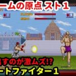 「ストリートファイター1」配信 格闘ゲームの原点をワンコインクリア!