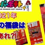 【2021年ゲーム福袋】新年1発目にスーパーポテトの高額福袋を開封【ご参考までに】