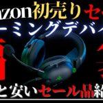 【ゲームデバイス特化】アマゾン新春初売りセールはこれを買え!【Amazon】