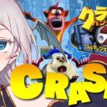【Crash Bandicoot 2】魂のゲーム!クラッシュ2やる!My soul game!!【プロ漫画家Vtuber】