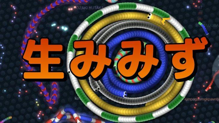 【スリザリオ】オンラインミミズ対戦ゲーム【Slither.io】