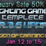【UE4】50% Off Template program of the fighting games /格闘ゲームを制作できるテンプレートプログラム