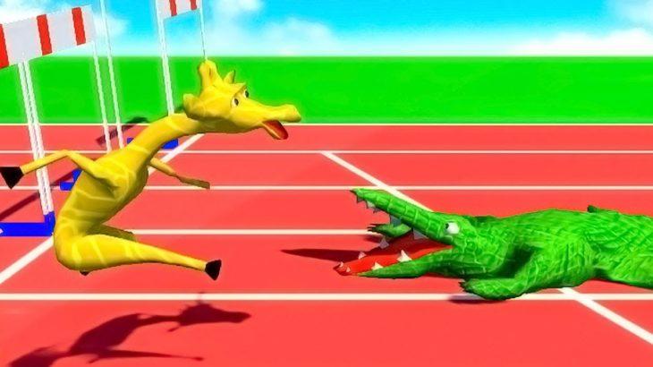 この世で最も狂ってて笑ってしまう運動会のゲーム「Wild Animal Sports Day」