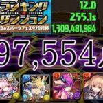 【パズドラ】スコア更新!ランキングダンジョン!東京eスポーツフェスタ2021杯!197,554点!