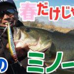 初登場!「和田真至」ここがキモ!!冬のミノーゲーム!⚠ 冬にデカバス釣りたい人必見⚠