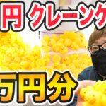 【大量ゲット⁈】1回10円のクレーンゲームを1万円分やったら全部のアヒルをゲット出来るのか⁈