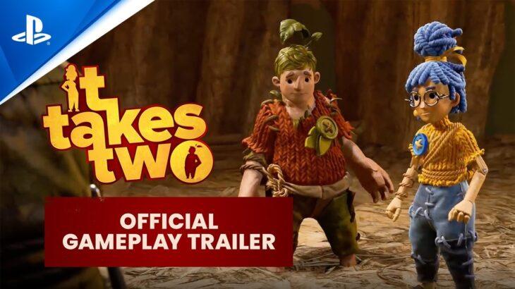 『It Takes Two』 ‐ 公式ゲームプレイトレーラー