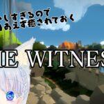 【THE WITNESS】3D激よわさんのパズルゲーム24回目【海野あおい】