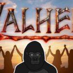 【Valheim】話題のサバイバルゲームを人間たちとワイワイプレイ【バーチャルゴリラ】