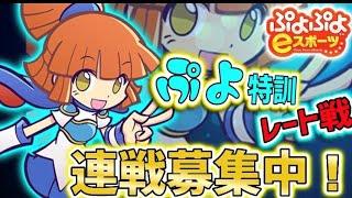 ぷよぷよeスポーツ【switch】レート24連勝企画