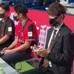 eスポーツフェス レバンガ、コンサ元選手がゲーム対決で白熱