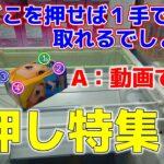 【クレーンゲーム】クレーンゲームで押しが使える状況を公開!エンジョイ勢の遊び技を見せます!www【つんちょう】