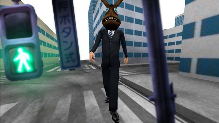 スーツを着た「うさぎ男」が迫ってくるホラーゲーム(ホラゲー2本立て)