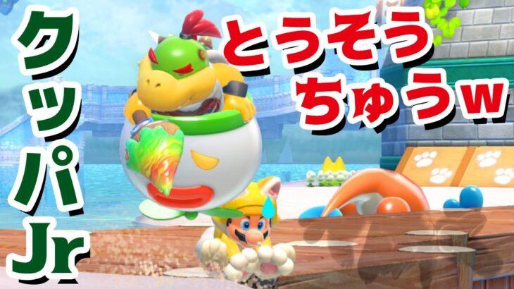 【ゲーム遊び】#07 フューリーワールド クッパJr逃走中w 青コインがめんどくさいんだよw【アナケナ&カルちゃん】Super Mario Fury World