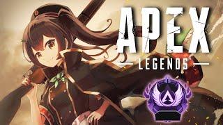 【APEX】女性Vが野良ランクでマスターを目指す【ゲーム配信】