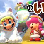 【ゲーム遊び】フューリーワールドでキノピコの家はどこ?しろネコマリオとネコクッパJrでさがしに行こう! 【アナケナ&カルちゃん】Super Mario Fury World