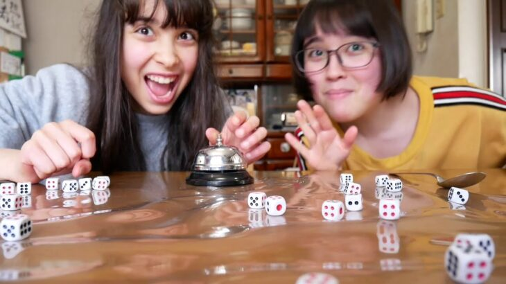 Silly Game – Spoon + dice game!  – スプーンとサイコロ ゲーム!