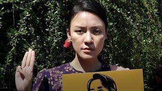 「ハンガー・ゲーム」の敬礼、なぜアジアの抗議運動のシンボルに?