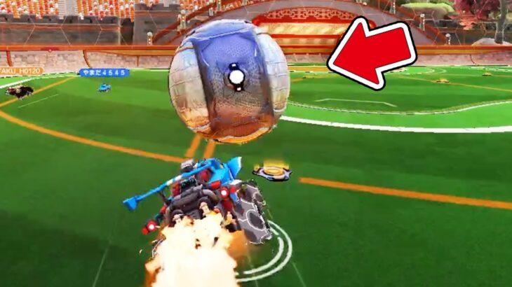 車でサッカーするゲームがハチャメチャすぎておもろいwww【ロケットリーグ😜】