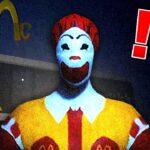深夜のマクドナルドで『ドナルドに襲われるホラーゲーム』がヤバい