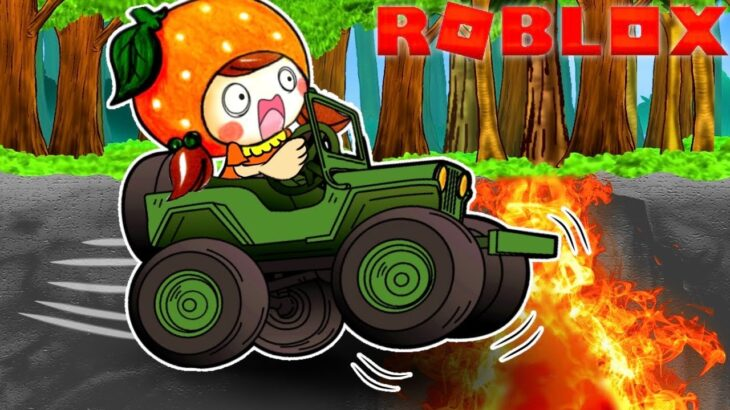 【今までで1番難しいゲーム⁉️😱】難易度マックス‼️車でマグマの海にダイブするオービー🚘 ここなっちゃんの精神崩壊🥶 ロブロックスで面白いゲームはThe Jeep Obby Challenge