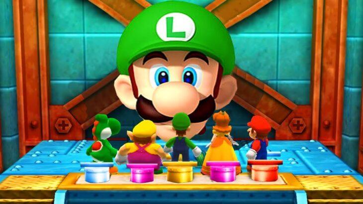 【マリオパーティ100ミニゲームコレクション】すべてのミニゲーム