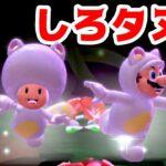 【ゲーム遊び】#24 スーパーマリオ3Dワールド 4-2 しろタヌキでどくぬま はじめての3Dワールドを2人でいくぞ!【アナケナ&カルちゃん】Super Mario 3D World