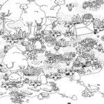 激ムズ「ウォーリーを探せ」ゲーム|Hidden Folks