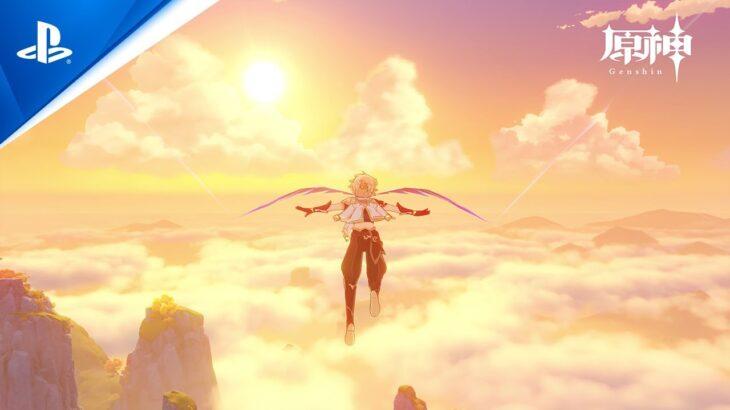 『原神』- PlayStation®5 ゲームプレイ動画-英語版 | 4K