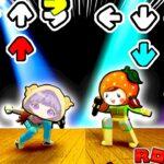 【テンションアゲアゲ…❗️🕺】ロブロックスのダンスバトルが難しすぎる…⁉️リズムゲームで対決した結果!ROBLOX Basically FNF💃【ここなっちゃん ぽっぴんず】