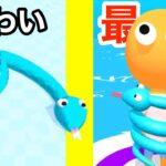 ヘビが人を巻きついて潰していっちゃおうゲームがやばい【 Snake Master 3D 】