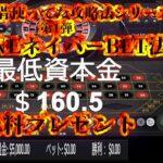 【オンラインカジノ】【ルーレット攻略法】5ZONEネイバーBET法