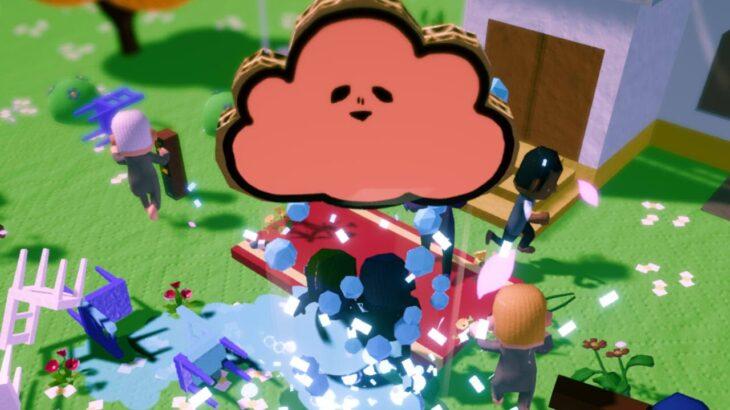 クソ雲になって人々に迷惑をかけるゲーム イタズラ雲の冒険