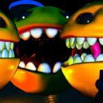 「パックマンの敵視点」が怖すぎる。人をバリバリ喰う黄色の生物がいるホラーゲーム