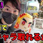 【クレーンゲーム】1万円で何キャラ取れるかやったら最高だった!