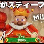 マイクラ?王様がスティーブ?「ミートピア」【#244 ドイヒーくんのゲーム実況・ニンテンドースイッチ・ロールプレイング」
